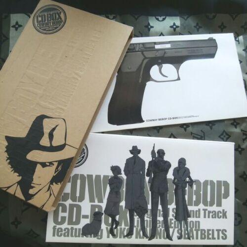 COWBOY BEBOP 4CDs BOX Limited Edition w Booklet Yoko Kanno USED Good