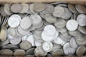 Roll Of Washington Quarters 90% Silver 1932-64 (40 Coins) $10 Face Value