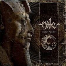 """NILE """"THOSE WHOM THE GODS DETEST"""" CD DIGIPACK NEU"""