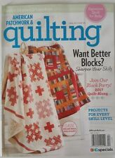 AMERICAN PATCHWORK & QUILTING APRIL 2016 ISSUE 145 BRAND NEW MAGAZINE
