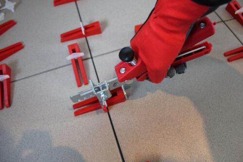 KABOUFIX Fliesen Nivelliersystem Verlegesystem Verlegehilfe 500 Laschen