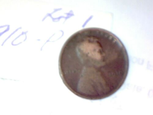 1910-P LINCOLN WHEAT CENT LOT 1