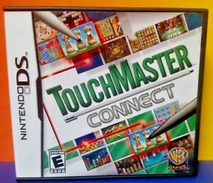Touch-Master-Connect-Nintendo-DS-DS-Lite-3DS-2DS-Game-Complete-Tested