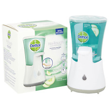 Dettol No Touch Hand Wash Dispenser System 250ml Brand New + Free Refill