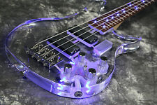 NEw Arrivel Custom shop SR-MLD-2007 4 strings electric bass guitar led light