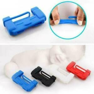 Car-Seat-Belt-Buckle-Clip-Silicone-Anti-Scratch-Cover-Safety-Accessories-Random