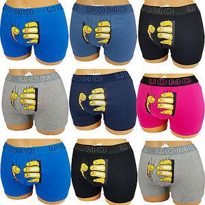 Uomo Boxershorts Cotone Uomo Retro Shorts Mutande con motivo  </span>