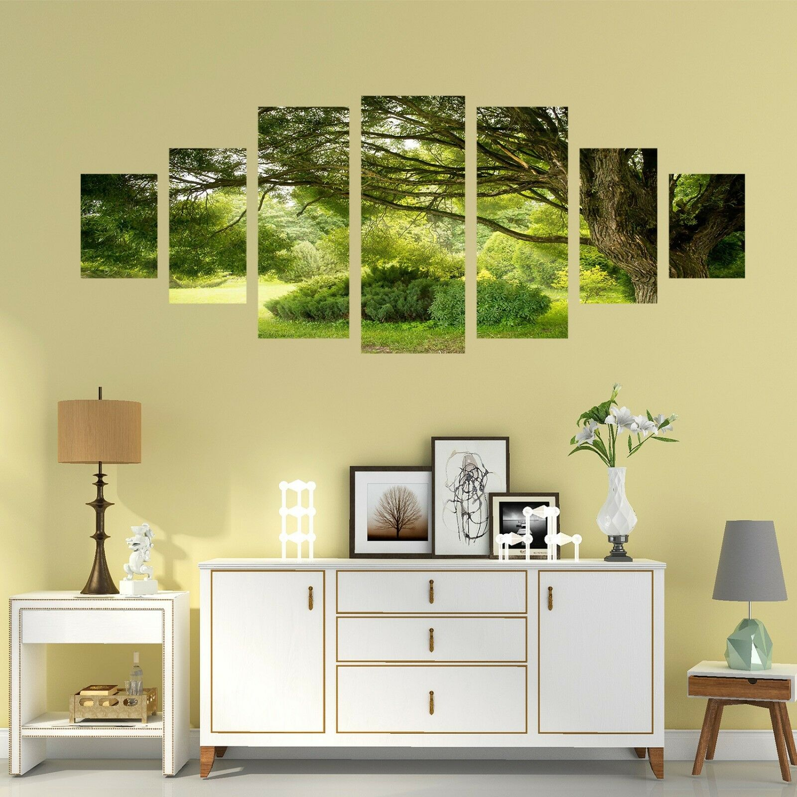 3D Garden Lawn 677 Unframed Print Wall Paper Decal Wall Deco Indoor AJ Wall
