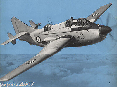 "Model Airplane Plans FAIREY GANNET 1//17 Scale 38/"" for 2.5-3.5cc Engine UC"