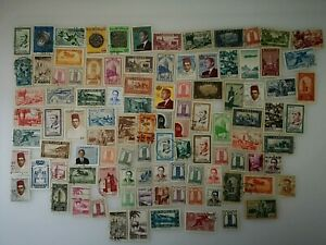 100-Different-Morocco-French-Stamp-Collection