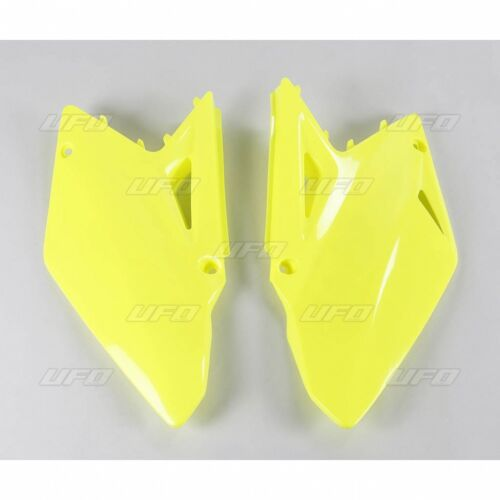 UFO Suzuki RMZ 450 2008-2017 Side Panels Neon Yellow Fluo