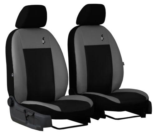 Honda Jazz 2015 en adelante Eco Cuero Tailored Fundas hecho a la medida frontal