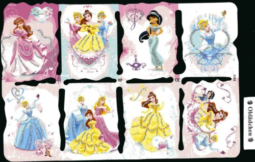 # GLANZBILDER # MLP 2152 g Disney Märchen Prinzessinnen wunderschön RARITÄT....