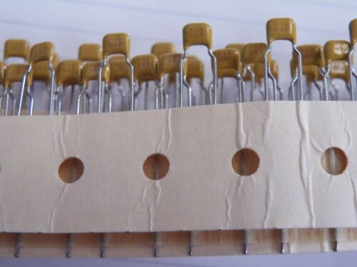 100 Pc Miniature Monolithic Ceramic Capacitor 100pF 50v Pitch 5mm  644