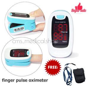 CONTEC-CE-FDA-Vingertop-Pulsoximeter-monitor-Blue-100-Garantie-SPO2-PR