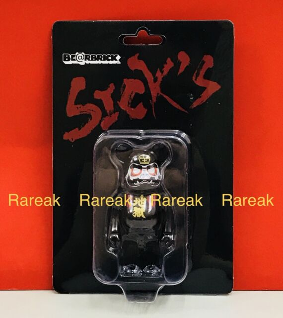Bearbrick 1pc Medicom Be@rbrick CJ Mart 100/% Japan Sakura Red Leaf ver
