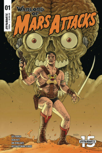 WARLORD OF MARS ATTACKS #1 VILLALOBOS VARIANT DYNAMITE ENTERTAINMENT COMICS