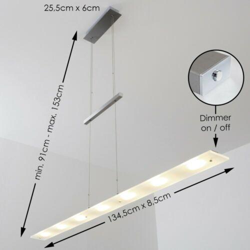 Pendelleuchte Design LED Esszimmer Lampe Wohn Zimmer Hängelampe Tastdimmer