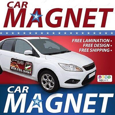 QTY. 1 12x24 Custom Car Magnets Magnetic Auto Truck Signs SignsIdea