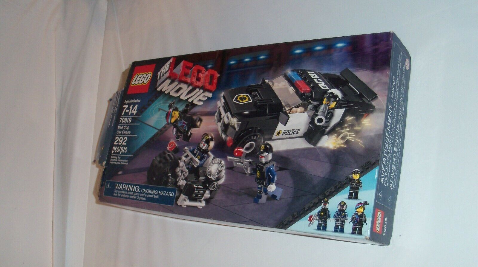 Lego Movie Bad Cop Car Chase  70819 Complete with box