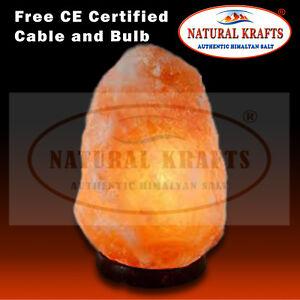 Image Is Loading Rock Crystal Himalayan Salt Lamp Natural Shape Beautiful