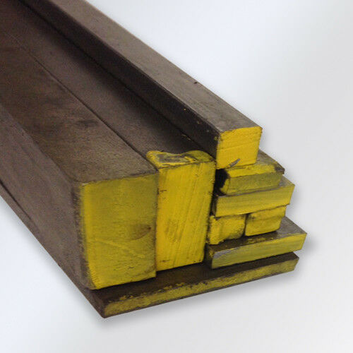 """1//2 x 1 x 60/"""" C1018 Cold Rolled Mild Steel Flat bar 1 Piece Ships UPS"""