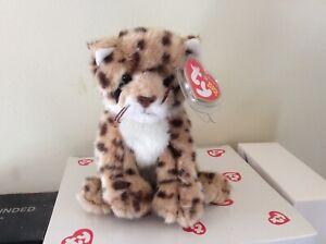 Ty Beanie Baby CHITRAKA the Cheetah Ty Store Exclusive MWMT
