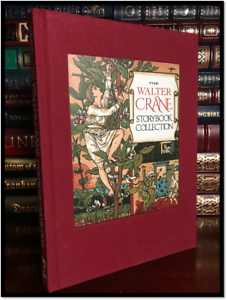 The-Walter-Crane-Storybook-Collection-Color-Illustrated-New-Deluxe-Cloth-Bound