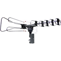 Naxa Electronics Naa-350 High Powered Amplified Motorized Outdoor Antenna Suitab