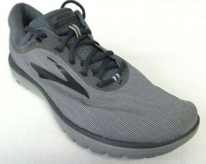 984fb2e49e3 New Men s Brooks Pureflow 7 Running Shoes - Size 9 - Grey Black