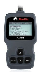 MaxDia-KT100-CAN-BUS-Diagnose-OBD2-EOBD-Scanner-fuer-alle-Fahrzeuge