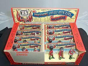 Britains 7223 8 ensembles de figurines de soldat en métal de cérémonie dans une boîte