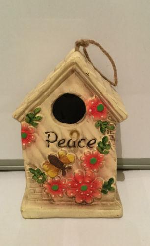 Decorazione GIARDINO Inspirations Birdhouse Bird House Hotel-Nido di nidificazione Pace
