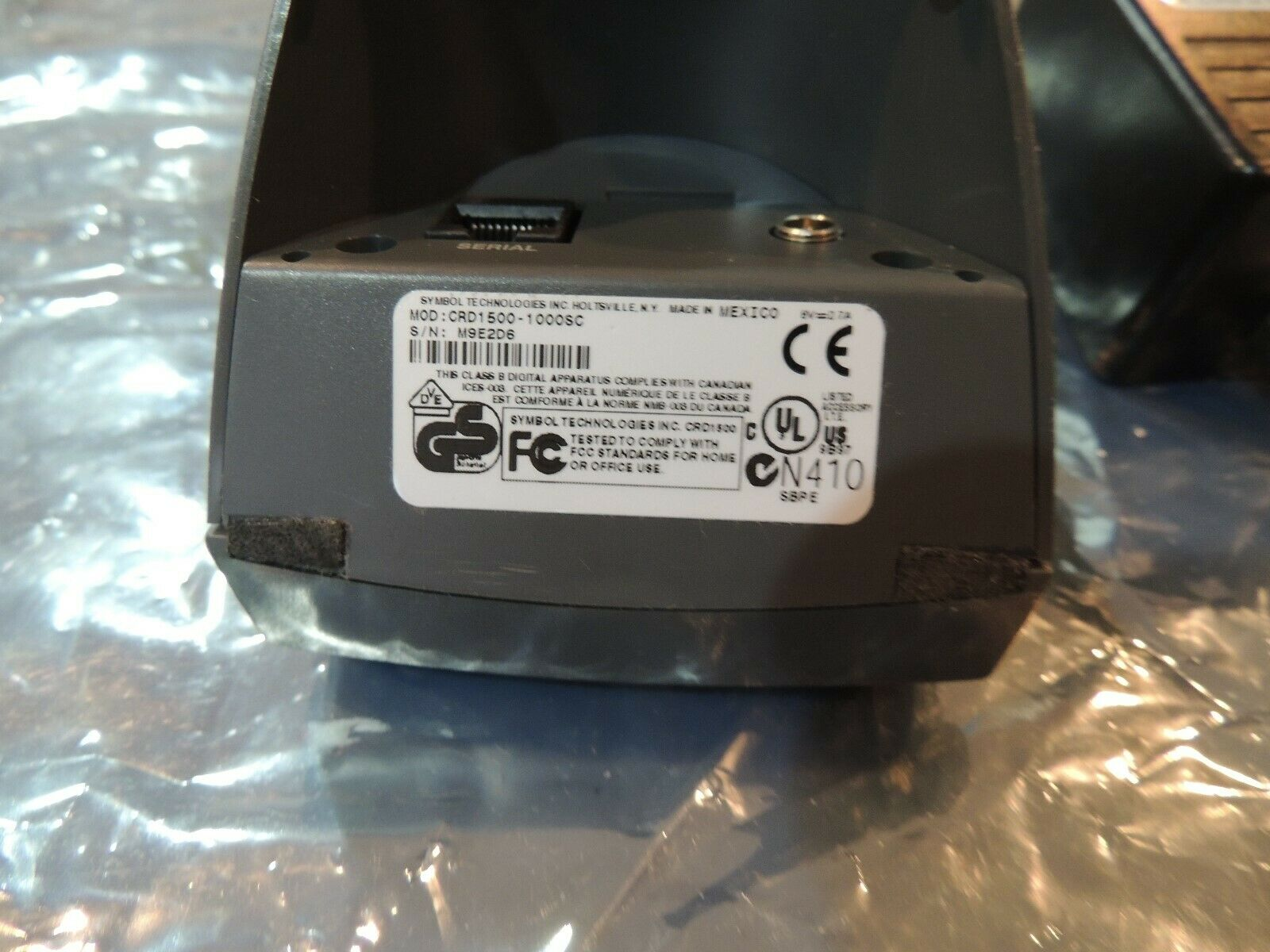 HOT SYNC CRADLE NEW IN BOX 1 YEAR WARRANTY* SYMBOL CRD1500-1000S FOR SPT1500