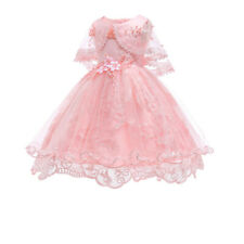 ef109095876e6 Flower Girl Dress Girls Baby Princess Party Formal Graduation Dresses ZG9