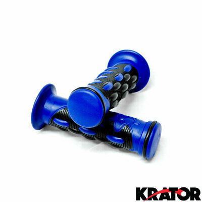 Tag ATV Handlebar Grips Blue Suzuki LTZ400 Z400 LTR450 LTR 450 King Quad Eiger
