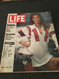 LIFE-MAGAZINE-JUNE-2-1972-RAQUEL-WELCH-MCGOVERN-NIXON-GOOD-CONDITION