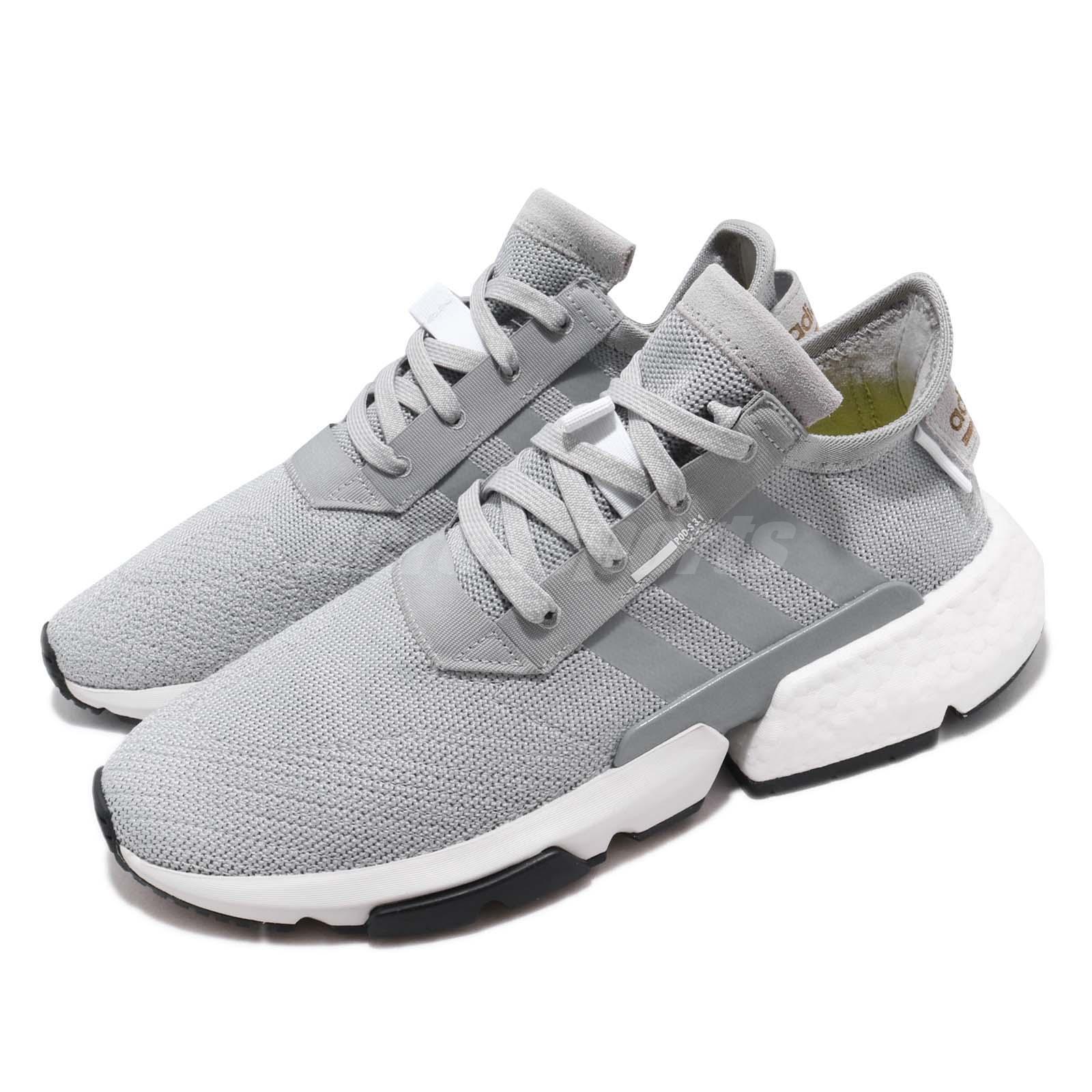Adidas Originales Pod-S3.1 Boost Running Zapatos Tenis Hombre blancoo gris CG6121