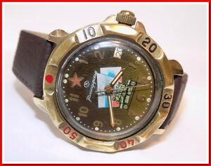 Inventif Vostok Komandirskie Montre Mécanique Militaire L'union Soviétique 1980's #18619 Un Style Actuel