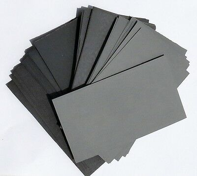 Sandpaper Wet Dry  5 1//2 X 9 Combo 400//600//800//1000//1200//1500//2000 Grit 21Pc.