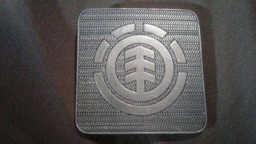 """Rare vintage NOS Element Skateboard Company Metal Belt Buckle 2 1//2/"""" × 2 1//2/"""""""