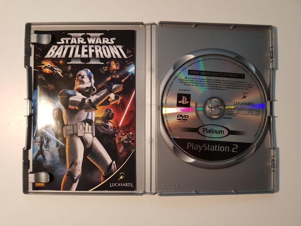 Star Wars Battlefront 2, PS2