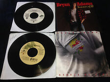 Bryan Adams Lot of 4 45s Everything I Do Let's Make a Night to remember Summer69