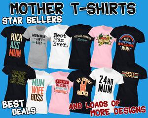 Femme-Meres-Day-T-shirt-cadeau-femme-drole-Designs-for-Mum-Cadeau