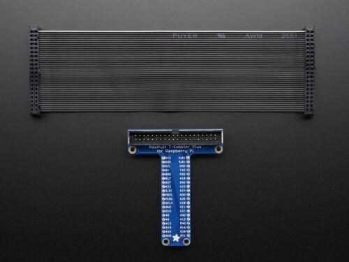 Adafruit Pi T-Cobbler Plus Breakout für Raspberry Pi A+//B+//Pi 2//Pi 3 aufgebaut