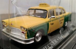 1-43-CHECKER-SAN-FRANCISCO-TAXI-1980-COCHE-DE-METAL-A-ESCALA