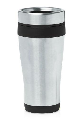 x25 LOT Black 16 oz Stainless Steel Insulated Travel Coffee Tea Mug