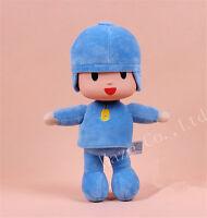 New blue Pocoyo Lovely Soft Plush Stuffed Figure Toy Doll 10 inch