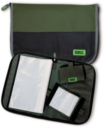 8420019 1 Large 2 Small Rig Wallets Fishing Rig Wallet // Bag Set ZEBCO