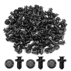 100-pcs-Clips-Plastic-Push-Type-Rivet-Retainer-Fastener-Bumper-Pin-For-Honda